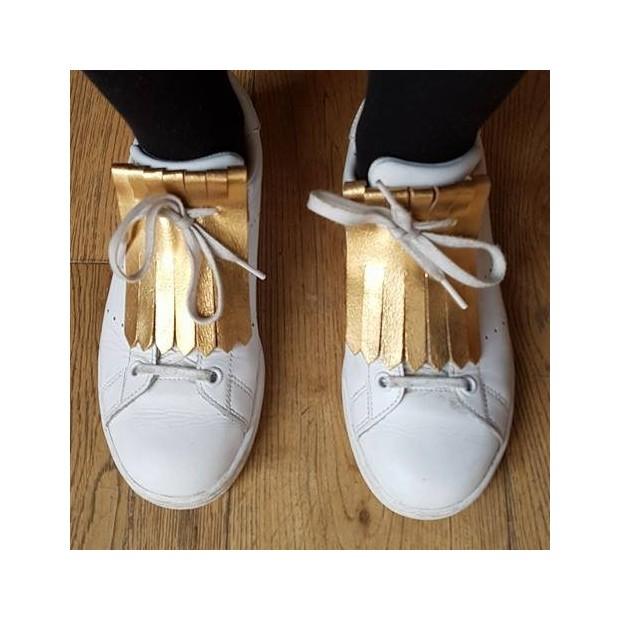languettes franges pour chaussures m tal bronze antoinette ameska. Black Bedroom Furniture Sets. Home Design Ideas