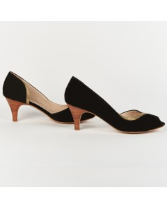 Bellagio Peep Toe - Black