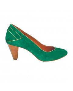 Vence Pumps  - Green
