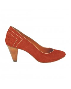 Vence Pumps  - Brandy