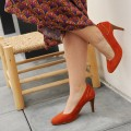 Antibes Stilettos - Red