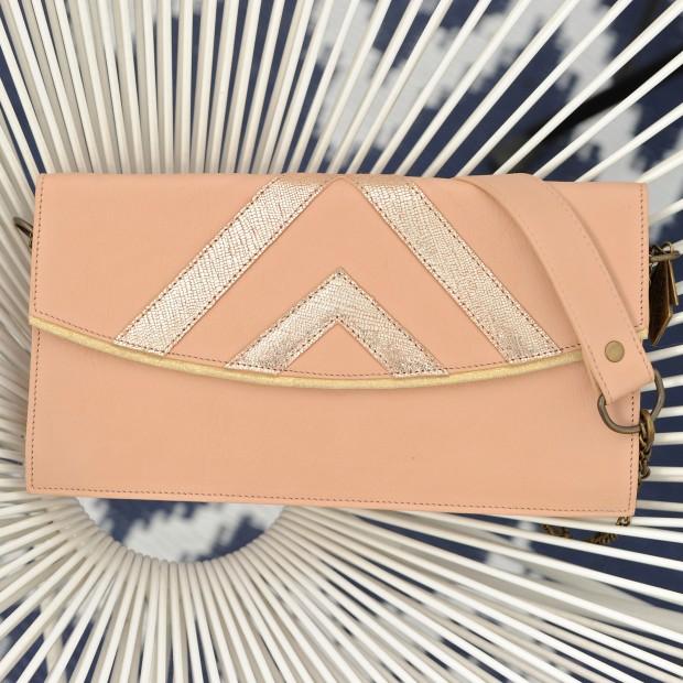 Prague Clutch Bag: Pink