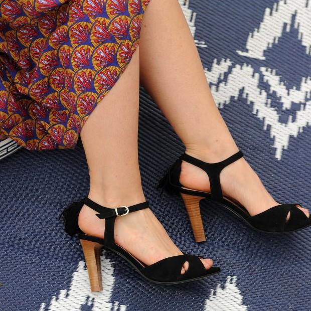 Sandales Jakarta Noir