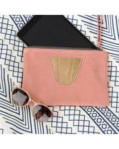 Tokyo Case: Blush velvet : Rose gold