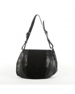 Verona Bag - Black Lizard