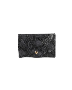 Florence Card holder - Black Python