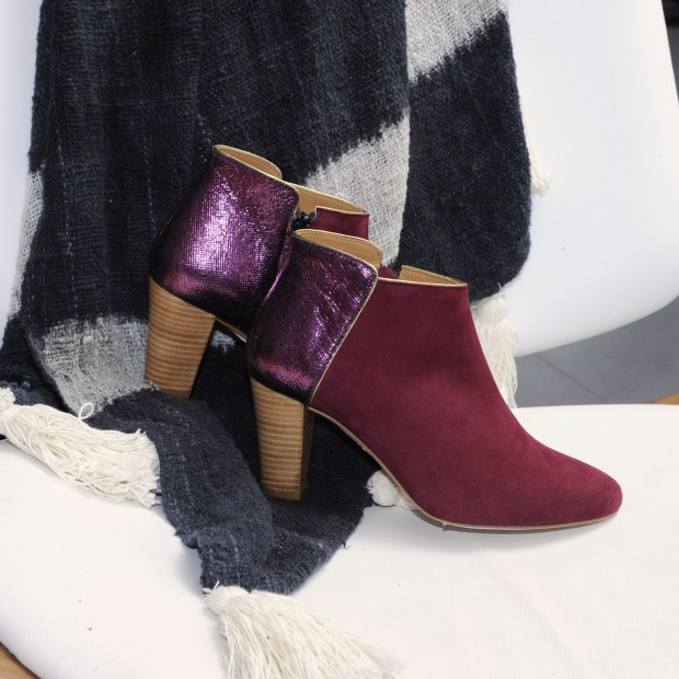 Montreal Boots - Purple