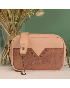 Memphis Clutch Bag: Pink