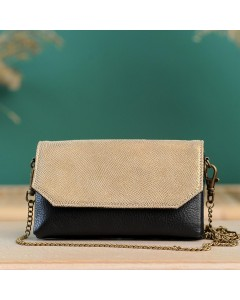 Zagora Clutch bag for mobile phone - Black Bronze