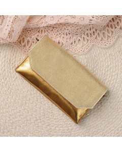 Zagora Clutch bag for mobile phone - Gold