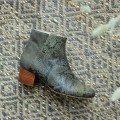 Odessa Boots - Khaki Python