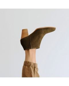 Pre order - Matera Boots - Khaki - Shipping from September 15th