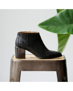 Pre order - Matera Boots - Black Snake - Shipping from September 15th