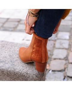 Précommande - Boots Lausanne - Camel Croco - Envoi à partir du 15 septembre