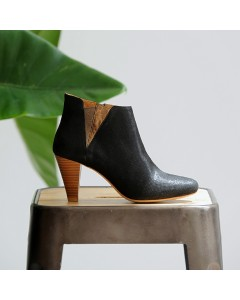 Pre order - Sydney Boots - Black Lizard - Shipping from September 15th