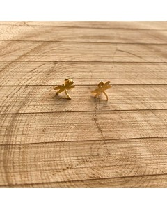 Earring - Ring - Dragonfly