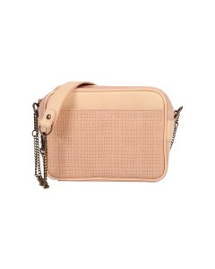Brooklyn Clutch Bag - Braded Pink