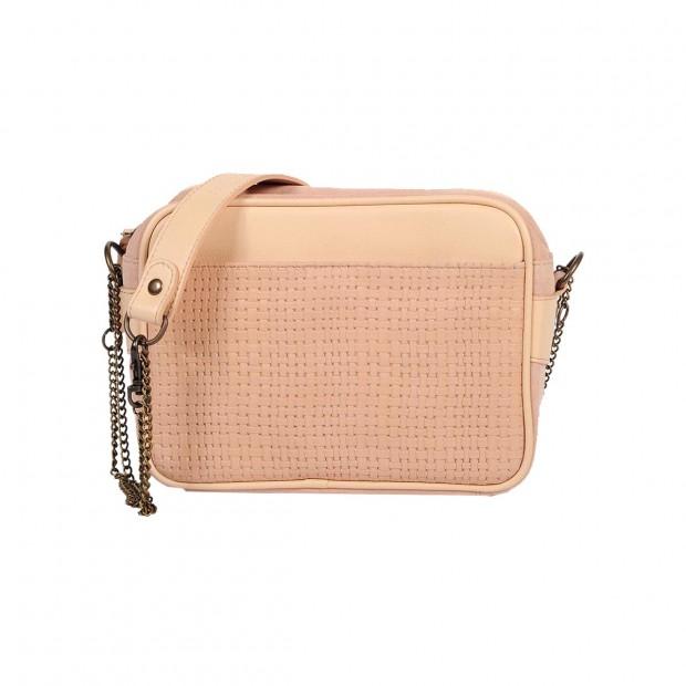 Brooklyn Clutch Bag - Braded Pink