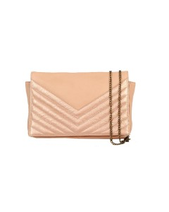 Venise clutch bag Pink - Pink Metal