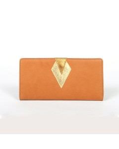 Ibiza Wallet - Camel - Golden Lizard