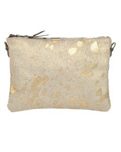 Clutch bag Zanzibar - Golden fur