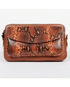 Eugene Clutch Bag - Chocolate