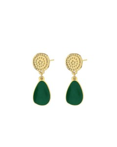 Pebble earrings - Laëti Trëma - Green