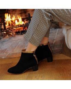 Boots Lausanne - Noir Bronze