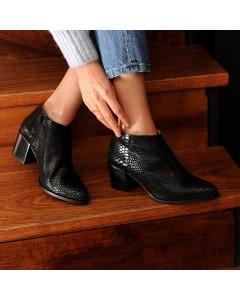 Boots Matera - Noir Serpent