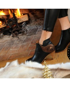 Phoenix Boots - Noir cuivre