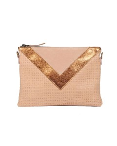 Gizeh Clutch - Braided Pink