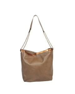 Lisbon Bag - Grey - Bronze