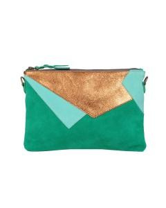 Green Luxor Clutch Bag