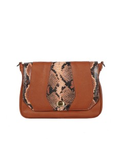 Rimini bag - Brown & Python