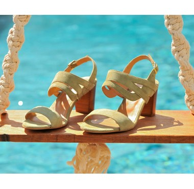 Sandales Figari Olive