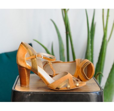Sandales Sintra Moutarde