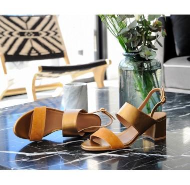 Sandales Sumatra Moutarde