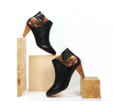 Boots Phoenix Noir Cuivre