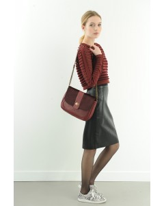 Bag Milan Burgundy