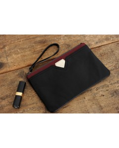 Case Faro Black - Burgundy
