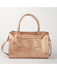 Sofia Bag - Metallic Pink