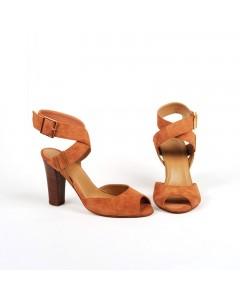 Sandales Prato Camel (Disponible Début Mars)
