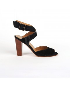 Prato Heeled Sandals Black
