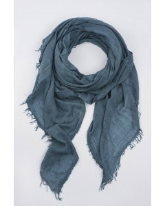 Scarf - July to June - Bleu Canard