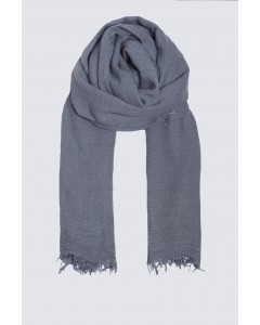 Scarf - June to July - Gris Bleu