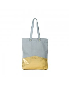 Capri Big bag Blue - Gold
