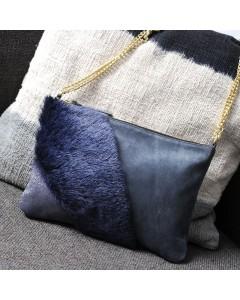 Toronto Clutch bag: Saphir