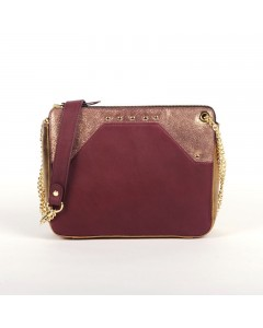 Rome Bag - Burgundy - Lizard
