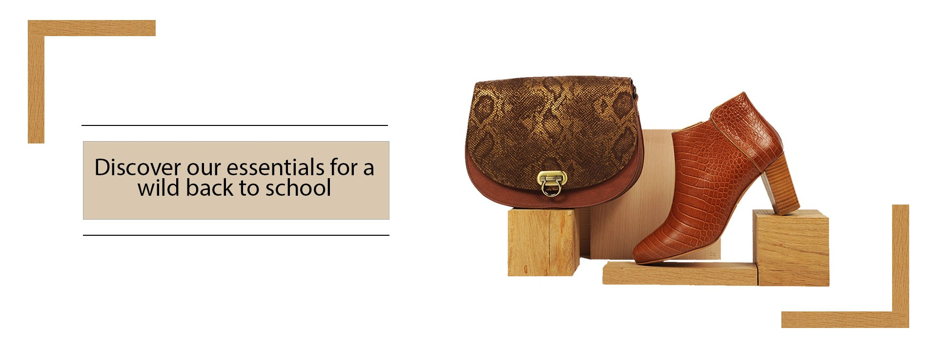 Discover our essentials for a wild back to school